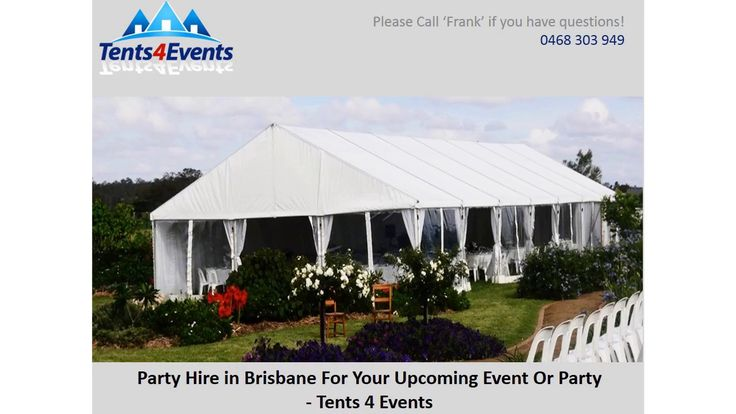Tents 4 Events can help create an indelible impression of defining style for your special event. We offer Marquee hire and Party Hire in Brisbane and the Gold Coast area. Our marquees offer the advantage of a space which can be tailored for the party effect you desire, giving you the choice of size and layout of your party venue. For more information, please contact us.Tents4Events, 8a Mendooran court, Oxenford QLD 4210, Phone: 0468 303 949, http://www.tents4events.com.au/