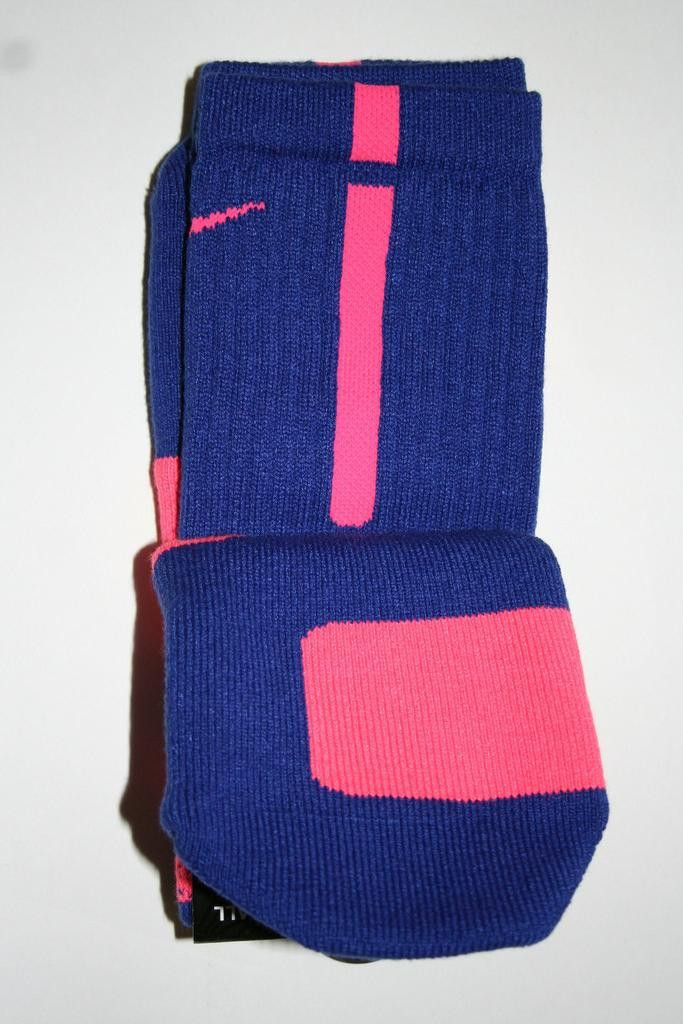 Nike Elite Basketball Crew Purple/Pink