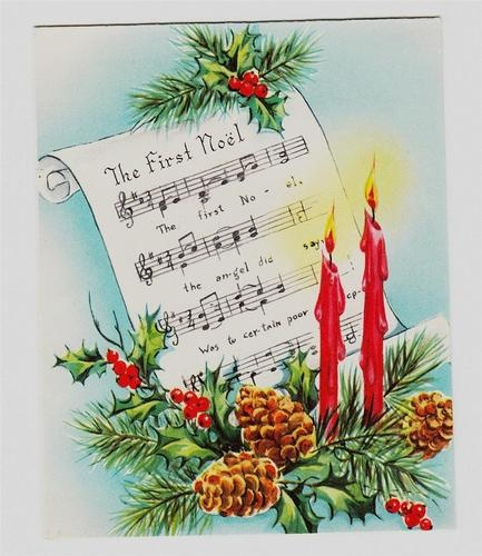 94 best xmas cards music words images on pinterest christmas noel m4hsunfo