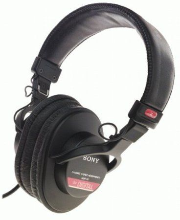 Amazon.com: Sony MDR-V6 Monitor Series Headphones with CCAW Voice Coil: Electronics