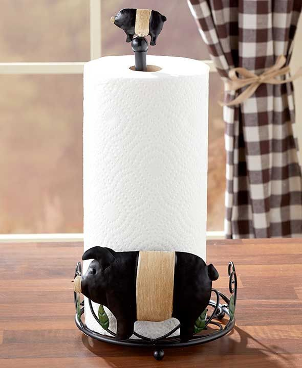 17 Best Ideas About Farmhouse Paper Towel Holders On