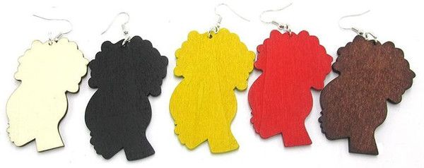 Afro puff earrings - only $10 at www.EthnicEarring.com.________ You will love our African American inspired accessories that you can wear with your Natural Hair Afro, Twist-Out, Braids, TWA or African Wrap. Our collection of Ethnic Jewelry & Natural Hair Earrings will help you to show off your african heritage and pride. Show the world you are a queen through your fashion.