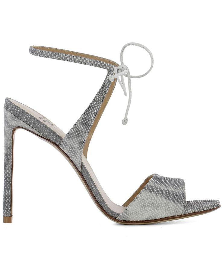 FRANCESCO RUSSO | Francesco Russo Grey Leather Sandals #Shoes #FRANCESCO RUSSO