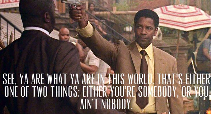 Frank Lucas in American Gangster