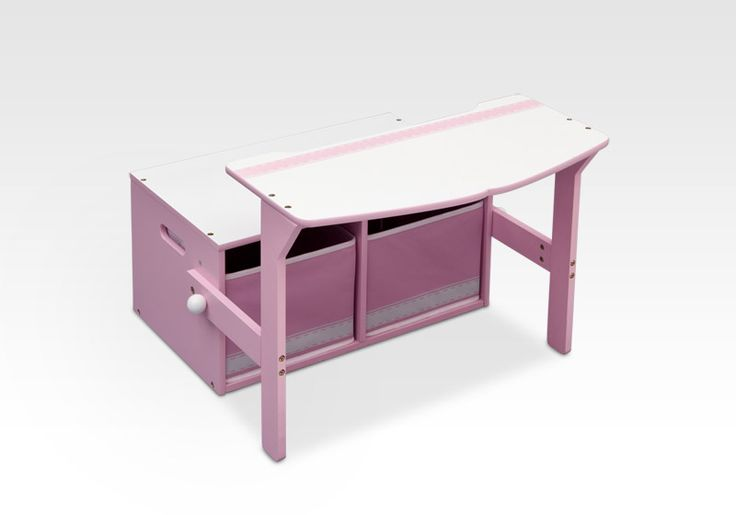 Venta de Banco convertible 3 en 1 rosa infantil de madera. TB84565GN, IndalChess.com Tienda de juguetes online y juegos de jardin