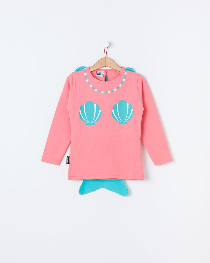 Super Mermaid - long sleeve / Super Sereia - manga comprida