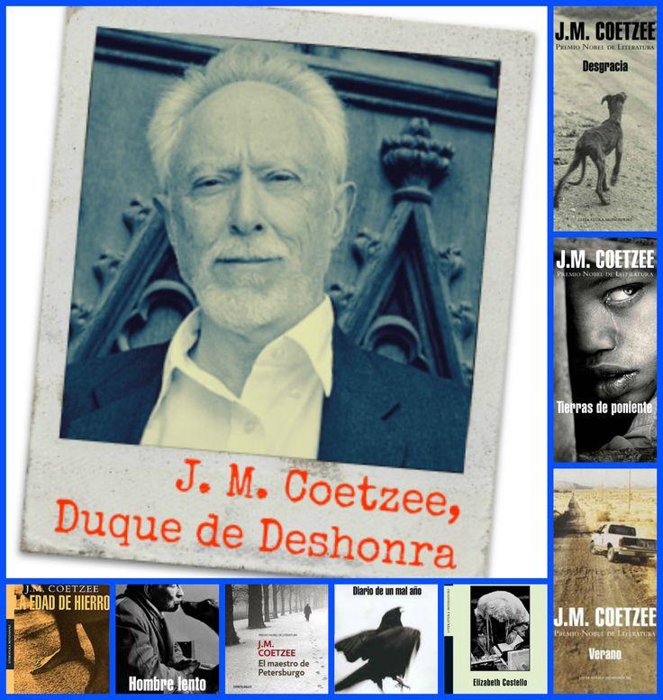J. M. Coetzee. Duque de Deshonra.
