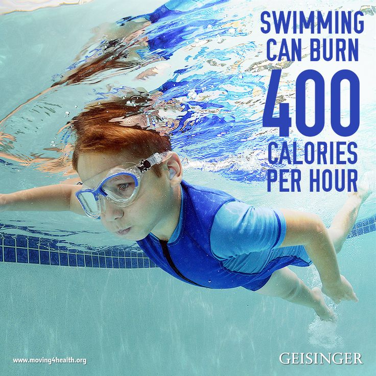 Swimming Burns 400 Calories Per Hour Swimming Doesn T Just Have To Be Laps Back And Forth In