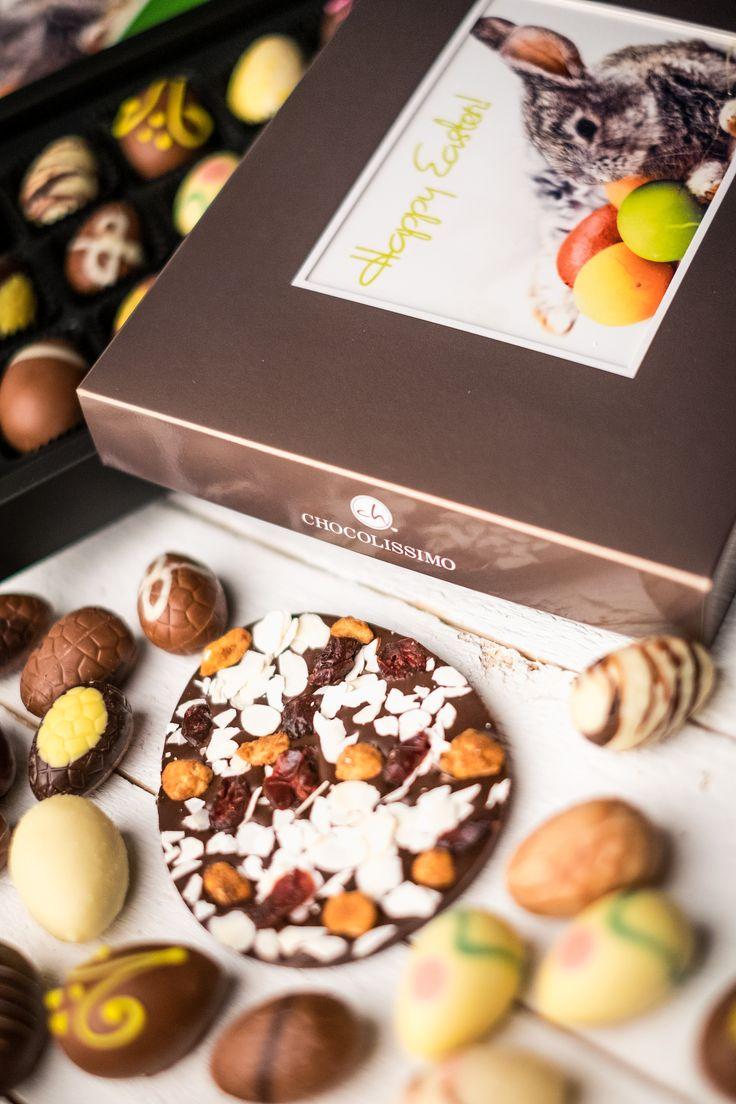 Easter Chocolate #easter #chocolate #chocolissimo #giftsideas #czekolada #wielkanoc #pomyslnaprezent #czekoladkizezdjeciem #eggs #pisanki