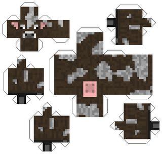 Fazendo a Minha Festa Infantil: Bonecos 3D do Minecraft!