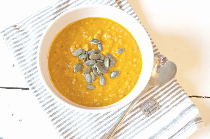 suppe linsesuppe spicy glutenfri vegansk vegan vegetarianer linser oppskrift enkel paleo lavkarbo