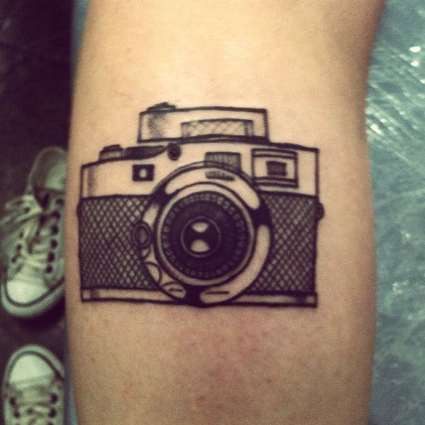 Tattoo stylized vintage camera by Rodrigo Tattoo by Rodrigo Tattoo Clinic, via Flickr