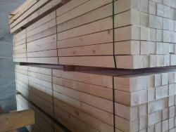 The Best Wood from Europe - white wood rough sawn timber (spruce - picea abies)