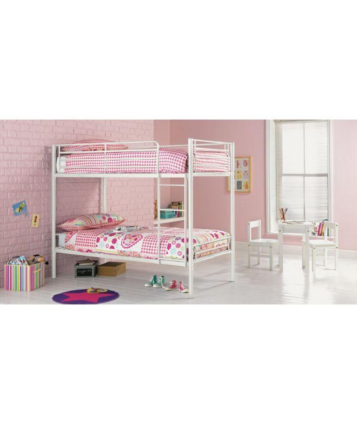 Buy Samuel Shorty Bunk Bed Frame - White at Argos.co.uk - Your Online Shop for Children's beds, Children's beds.