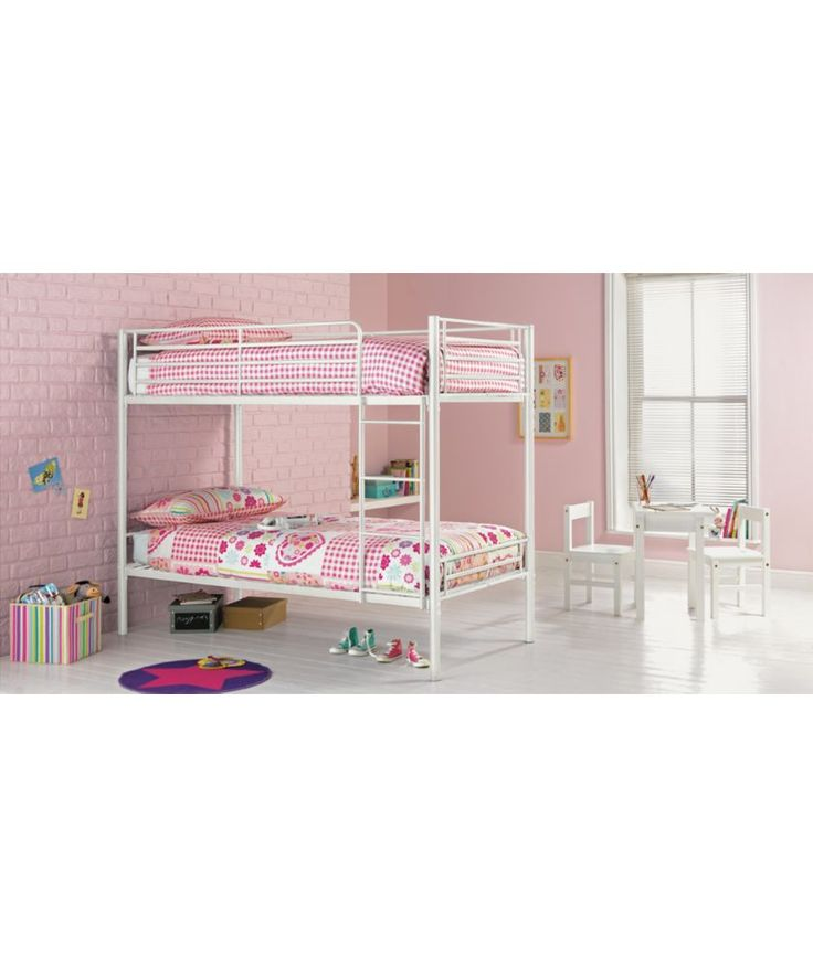 Buy Samuel Shorty Bunk Bed Frame - White at Argos.co.uk - Your Online Shop for Children's beds, Children's beds.