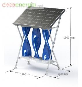 Sistema Integrato Eolico-Solare SolarMill - HG ENERGY