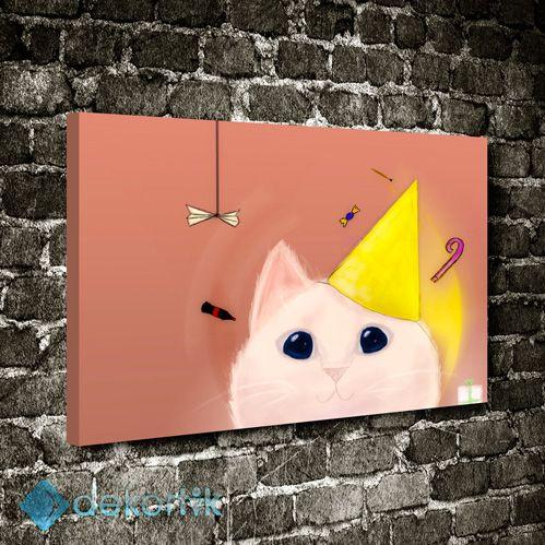 Çizgi Kedi Tablo #çocuk_odası_tabloları #genç_odası_tabloları