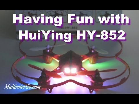 Having Fun With HuiYing HY 852 Quadcopter with Awesome LEDs. You can get it cheap  here:  http://shrsl.com/?~8rjx or here: http://shrsl.com/?~8rjy