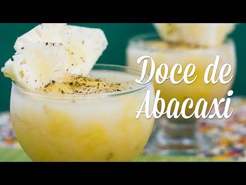 Doce de Abacaxi com Agar-agar