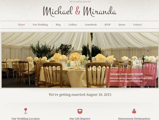 11 best Wedding website images on Pinterest | Wedding website ...