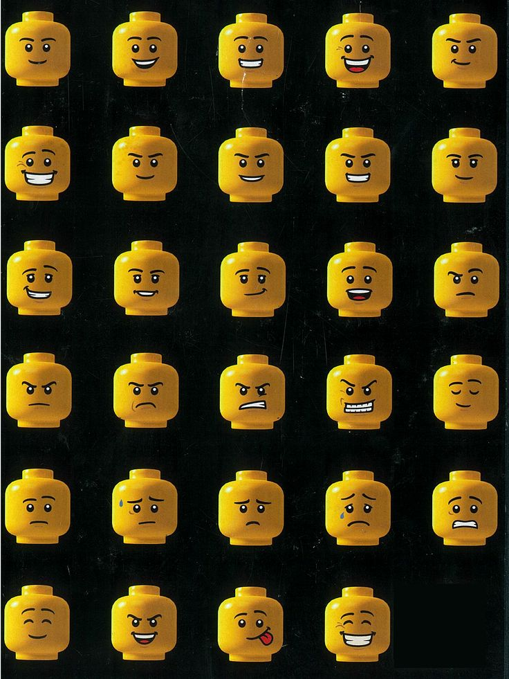 Lego faces!