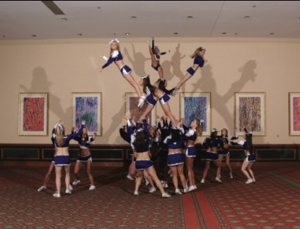 #awesome cheer stunts
