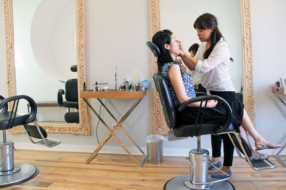 Eye Love Brow & Beauty Bar - the focus is almost exclusively on brows (793 Queen St West)