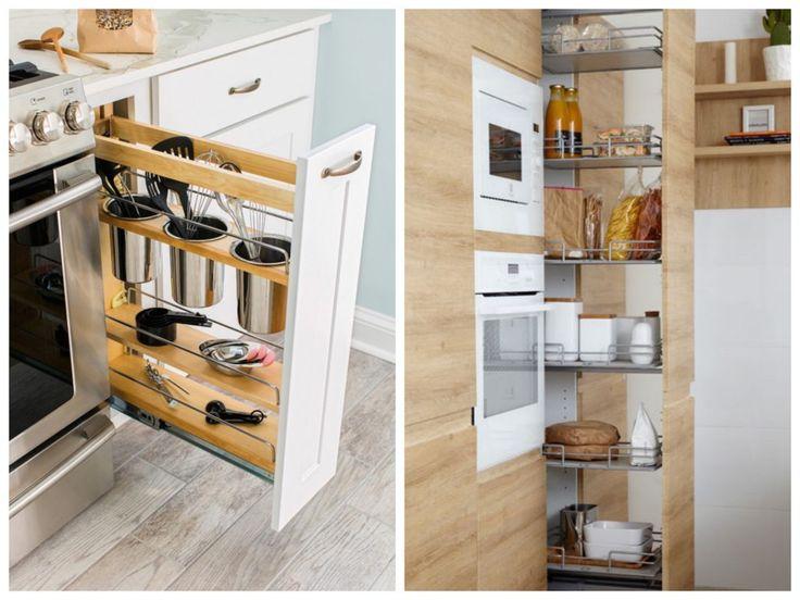 astuce rangement cuisine conseil optimisation espace tiroir rangement cuisine tiroir hauteur bouteille rangement malin intelligent