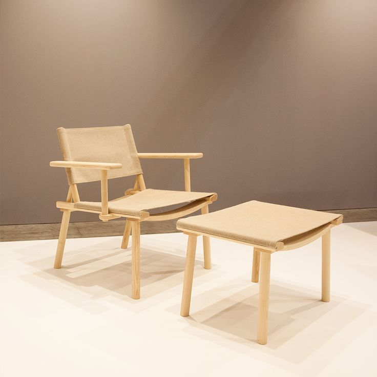 The new December chair with armrests by Jasper Morrison and Wataru Kumano for Nikari