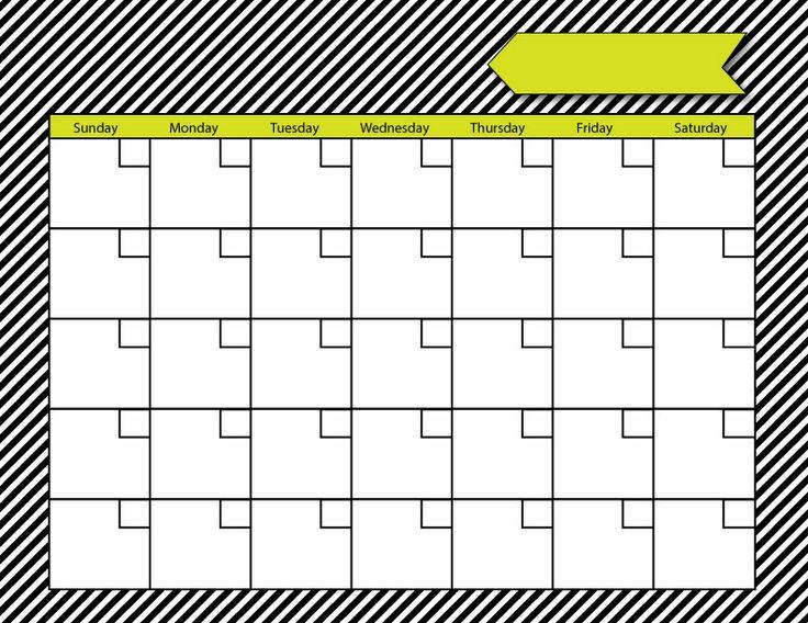 Blank Calendar Customizable : Blank calendar free printables love note