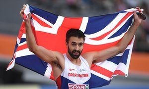 Martyn Rooney wins 400 metres gold at European Athletics Championships | Sport | The Guardian