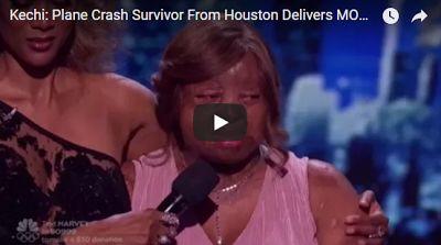 Video: Sosoliso plane crash survivor Kechi Okwuchi breaks down in tears after an amazing performance on America's got talent live show http://ift.tt/2vEaMAP