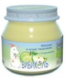БИБИКОЛЬ Яблоко и козий творожок пюре с 6 мес 80 г  — 97р. ----- Яблоко и козий творожок.    Состав:   яблоки, творог из козьего молока. Содержит молочный белок.    Польза козьего творога   Хорошо усваивается: при ферментативном створаживании молока происходит частичное расщепление молочных белков (казеинов) в твороге. Это приводит к более полному и легкому усвоению белков казеинов в кишечнике.   Хорошо переносится: в твороге молочного сахара лактозы существенно меньше, чем в молоке…