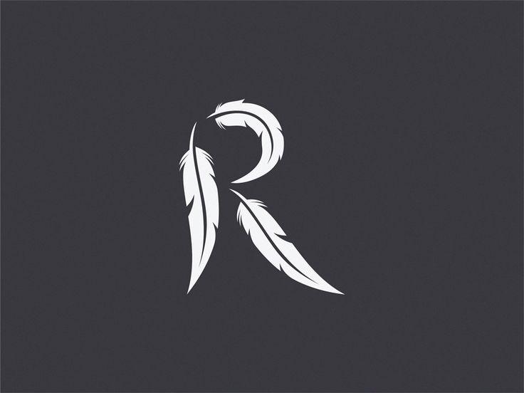 Raven  letter R ( Unused logo ) by Yuri Kartashev #Design Popular #Dribbble #shots