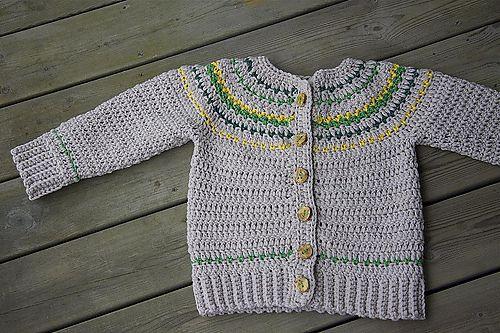 Ravelry: Fairly Isleish Fair Isle Style Cardigan Sweater for Boys and Girls pattern by Sarah Lora