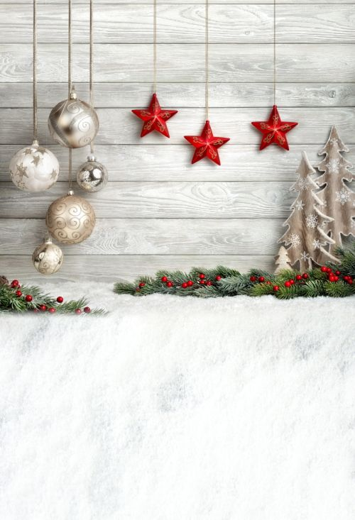 HUAYI  Background  Art Fabric Newborn Backdrop  children Photography Props photo background christmas XT-4338