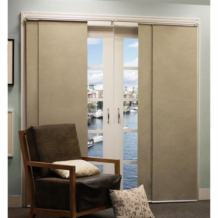 7 Best Sliding Panel Curtains Images On Pinterest Blinds