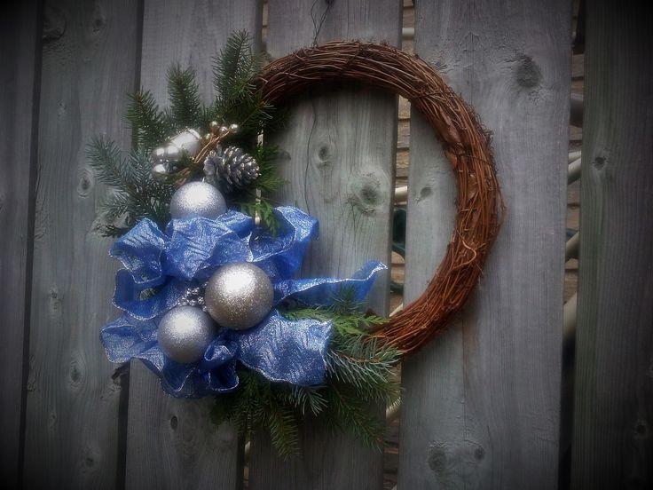 """Reine, Christmas Wreath """"Made In Paris"""" by Regine H."""