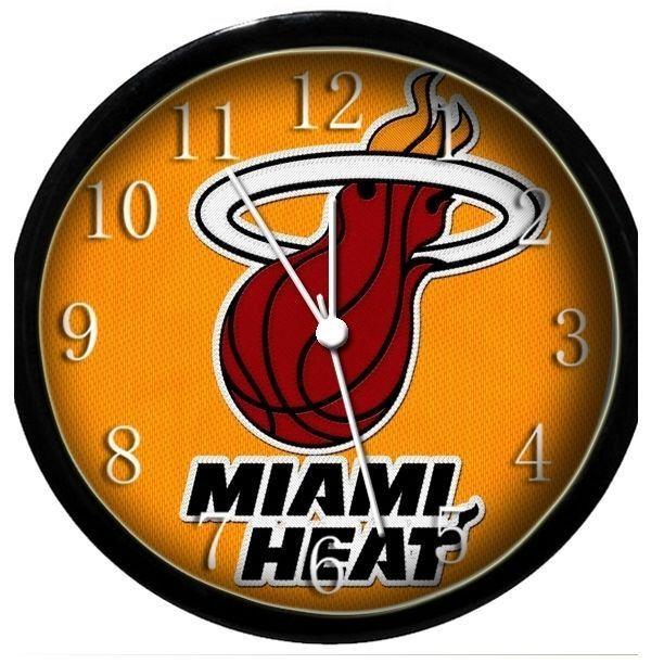 Miami Heat wall clock