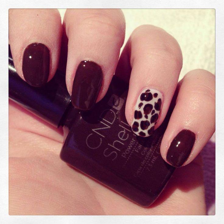 party nail #mybeautymaven Leopard Party, Gel Nails, Cnd Shellac, Nail