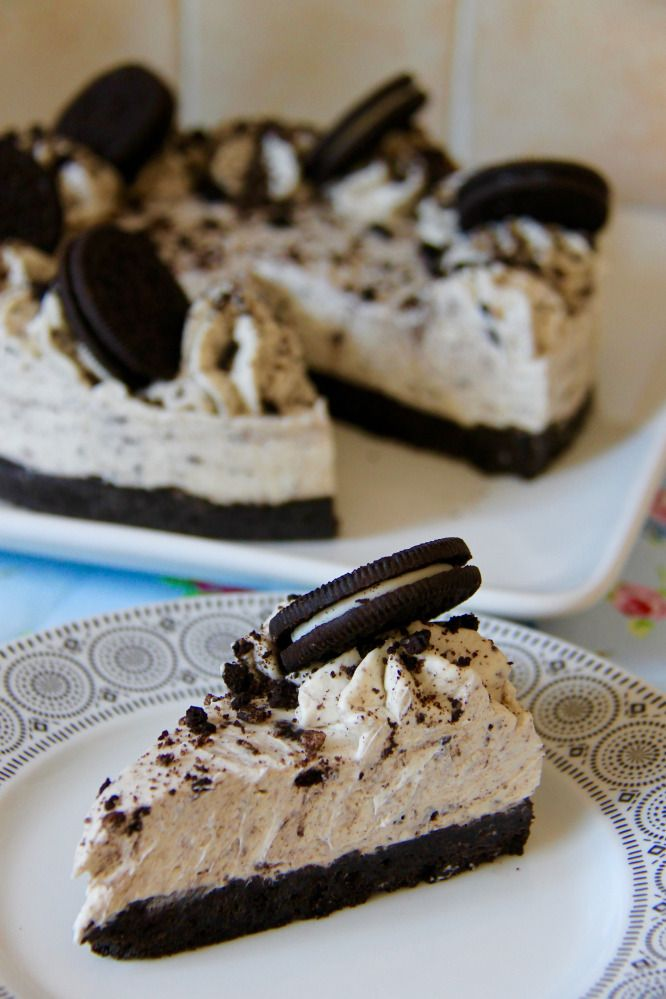 No-Bake Oreo Cheesecake!