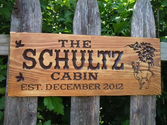 17 best images about cabin signs on pinterest for Cabin signs wood