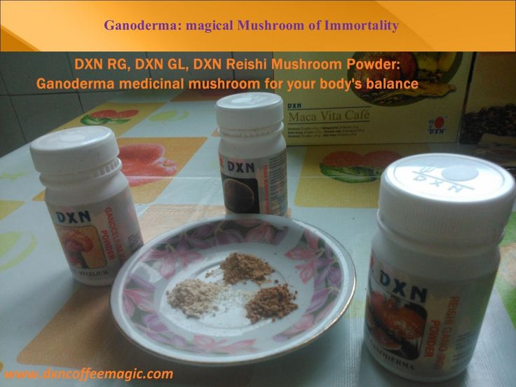 Ganoderma: magical Mushroom of Immortality by Gergely Takács via slideshare