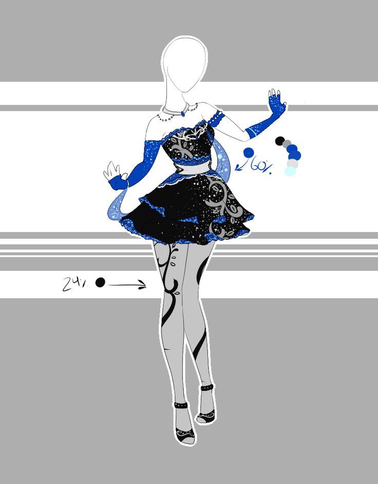 .::Outfit Adoptable 40(OPEN)::. by Scarlett-Knight.deviantart.com on @DeviantArt