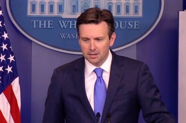 Reporters Grill Josh Earnest Over Evacuation of WH Press Room: 'Who Covered Up the Cameras in This Room?'    Jun. 9, 2015 5:42pm   Jason Howerton