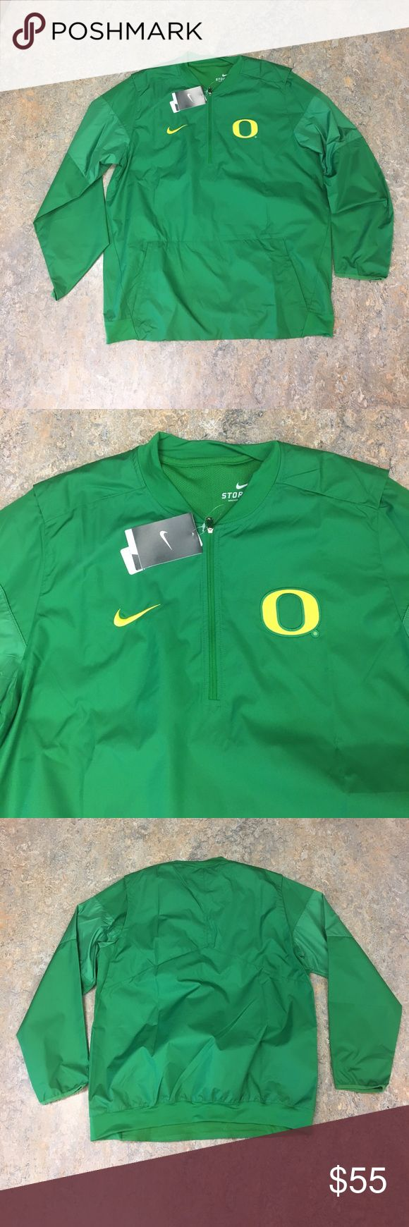Oregon Ducks Nike Men's Lockdown Jacket Large Brand new with tags officially licensed Oregon Ducks Nike men's jacket size large Nike Jackets & Coats Lightweight & Shirt Jackets