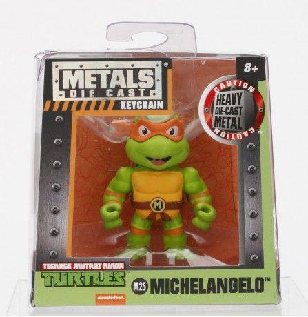 Jada TMNT M25 Michelangelo Figure 2.5 inch