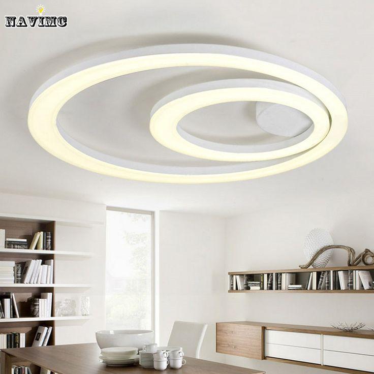 Incasso ha condotto la luce lampadario new design bianco illuminazione…