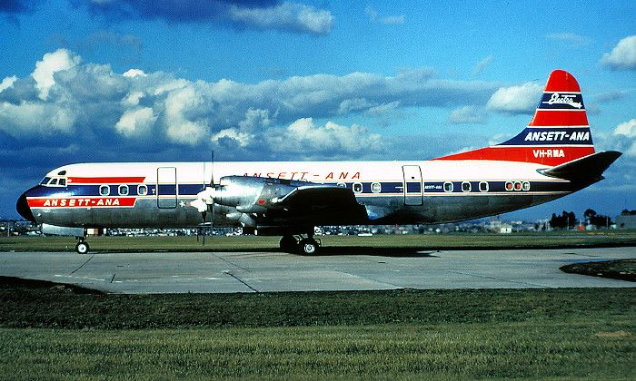 ANSETT Lockheed L-188A Electra (VH-RMA)