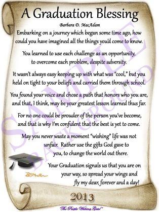 graduation poems   NEW 2013 GRADUATION BACKGROUND!